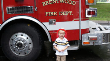 How To Schedule The Brentwood TN Fire Dept. For A Child's Birthday Party
