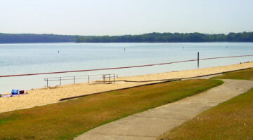 Percy Priest Lake's Swimming Beach + Other Middle Tennessee Beaches