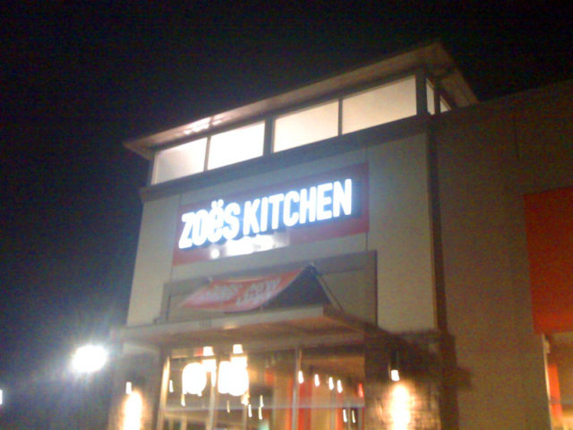 Gluten Free Dining At Zoe S Kitchen In Brentwood Tn The