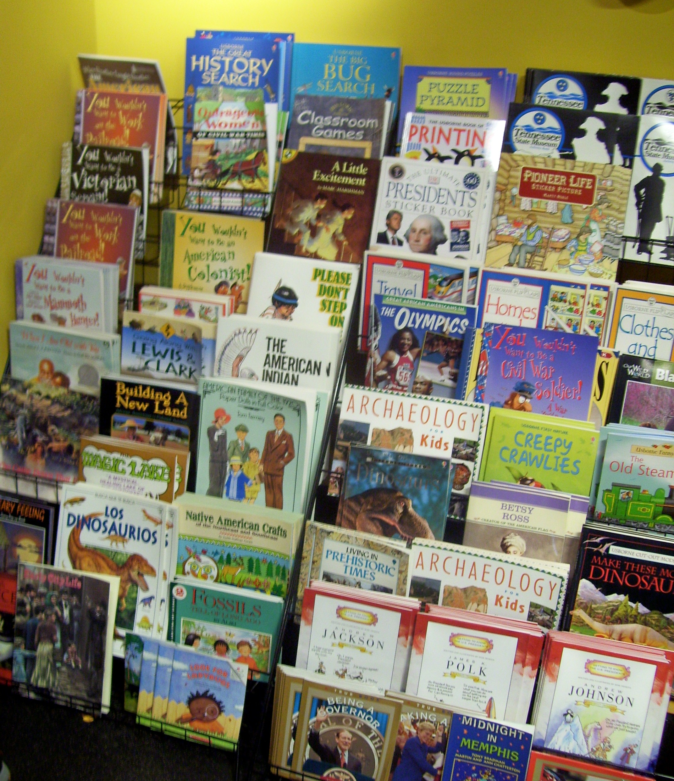 You can buy the best children's books about Tennessee at the Tennessee