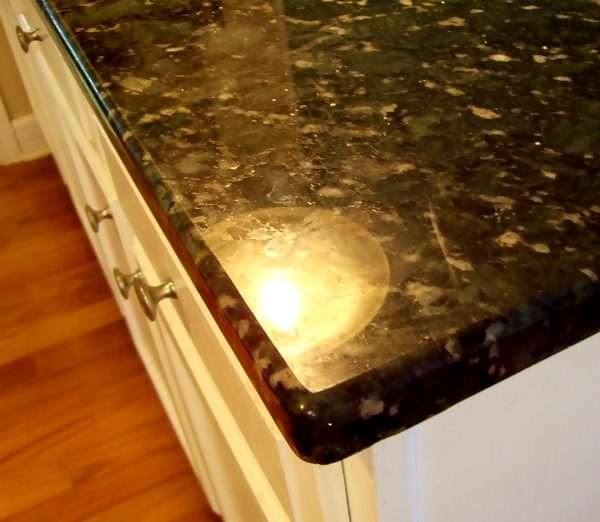 Granite Countertop with Demi Bullnose Edge