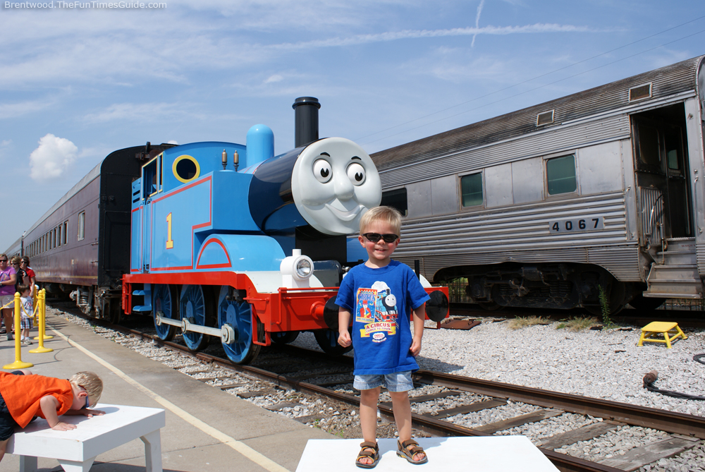 Day out with thomas the tank engine in nashville a review the