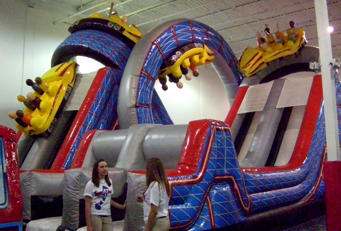 Indoor Jump Zones Inflatable Play Centers Trampoline Parks For
