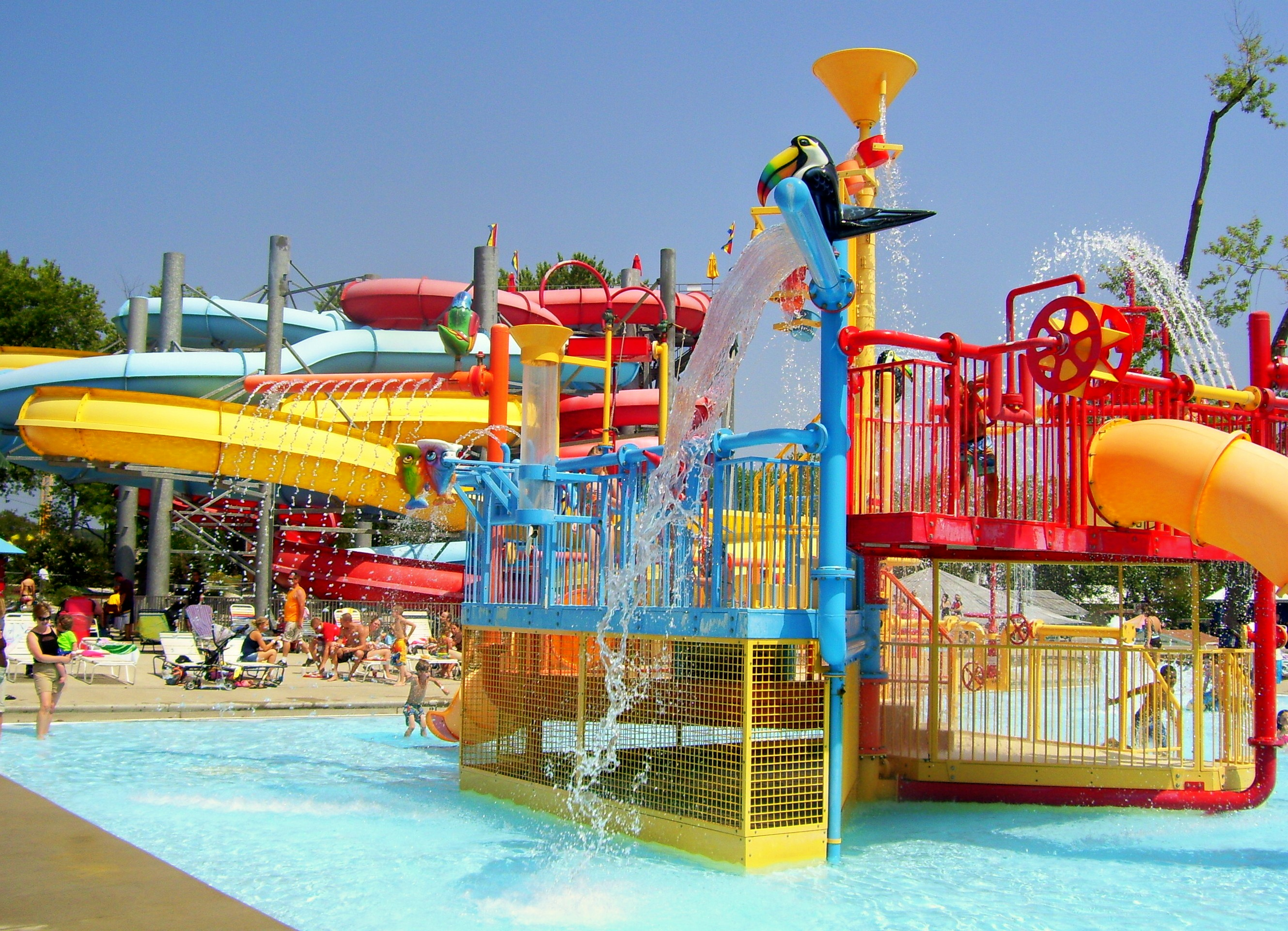 water parks We offer two water parks in north and northeast minneapolis.